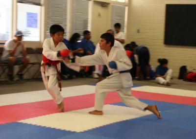Gensei Ryu 2015 Kumite Alexis Attacking