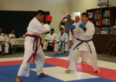 Gensei Ryu 2015 Kumite Enrique Zack