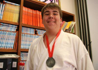 Gensei Ryu 2015 Kumite Zack Medal