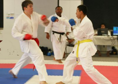 Miguel Zack Sparring